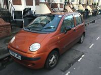 DAEWOO MATIZ FOR SALE FOR SPARE PARTS