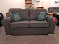 Ex Display 2.5 Seater Sofa Dark Grey **CAN DELIVER**