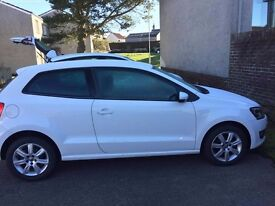 Volkswagen Polo 1.2 Match Edition. Full service history and two year service plan.