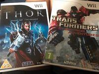 2 nintendo Wii games
