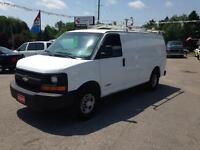 2006 Chevrolet Express Certified and wrested ladder rack and...