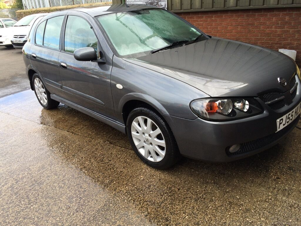 2005 nissan almera sx 12month mot in church lancashire. Black Bedroom Furniture Sets. Home Design Ideas