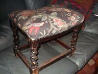 foot stool barlytwist legs