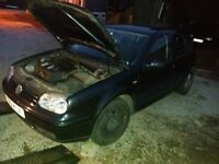 Breaking 1.8 20v non turbo mk4 golf