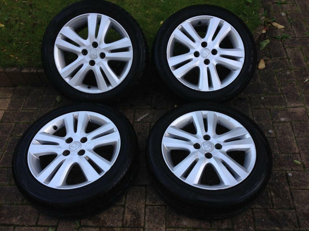 Honda Jazz Alloy Wheels And Tyres In Southside Glasgow Gumtree