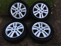 Honda Jazz alloy wheels and tyres