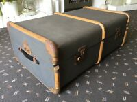 1960's Vintage Steamer Trunk
