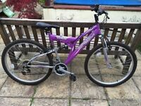 Mountain Bike 18 speed dual suspension excellent condition