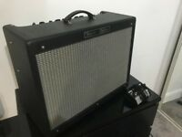 Fender Hot Rod Deluxe valve/tube guitar amp USA made, with footswitch & cover