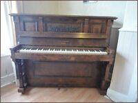HOPKINSON PIANO WITH STOOL