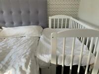 Bedside cot/ newborn crib