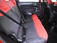 FIAT 500L 1.3 MULTIJET 85 POP STAR 5DR DUALOGIC Auto (red) 2014