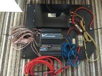 Alpine 6x9, Fli Subwoofer, Vibe Amp And Alpine Amp
