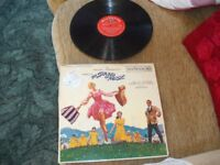 Original 1965 Viynl Record Of The Sound Of Music (perfect condition)