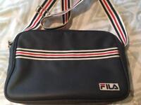 FILA flight bag.