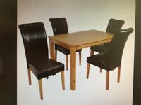 Table and chairs excellent condition