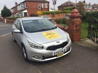 Kia Ceed Taxi plated Manchester
