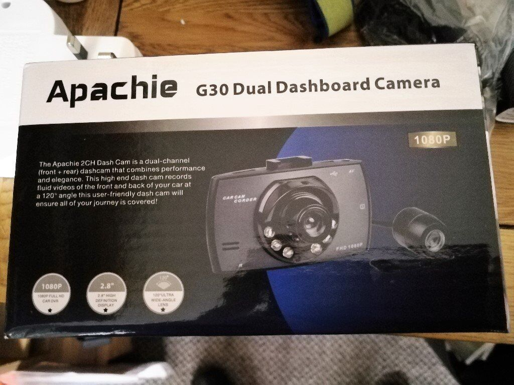 Apachie Dual Dashboard camera