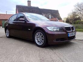BMW 320i Auto, Dark red