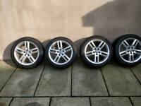 "Audi A4 A6 s5 18"" alloy wheels S line"