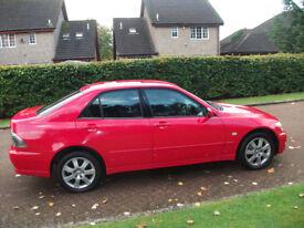 lexus is 200 s 1998cc 2002 mot sep 18 £650
