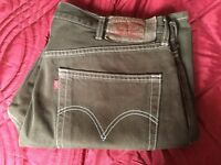 FOR SALE 1PAI OF GENTS 501 LEVI DENIMS