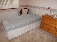 Silent Night Single Bed. Immaculate condition. Sale due to house move.