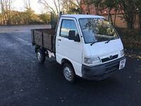 Y REG DAIHATSU HIJET 1.3 PICKUP 2DR-DRIVES WELL-LONG MOT-NEW WOODEN BACK-IDEAL FOR GARDENING BUSINES