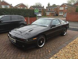1991 TOYOTA SUPRA MK3 3.0i TURBO AUTO BLACK ** LOOKS & SOUNDS AWESOME**