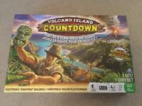 Volcano Island Countdown board game with electronic erupting volcano !