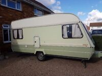 ABBEY MARAUDER 5 BERTH CARAVAN WITH AWNING RELISTED DUE TO TIMEWASTER