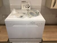 New Currys Essentials Compact Dishwasher CDWTT15