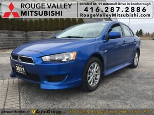 2011 Mitsubishi Lancer SE, BALANCE OF FACTORY WARRANTY !!!!