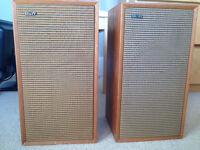 B and W Audio Speakers