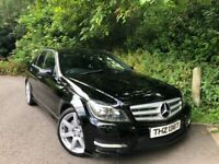 2013 Mercedes C220cdi Amg sport *Privacy glass 18's* Fresh Mot nice car!
