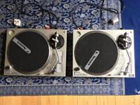 Gemini Xl-500 II Direct drive Dj Turntables record player + Stanton 500 cartridges x2