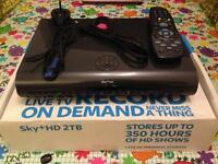 2TB Sky+ HD box, Excellent Condition, ONLY 10 MONTHS OLD!!