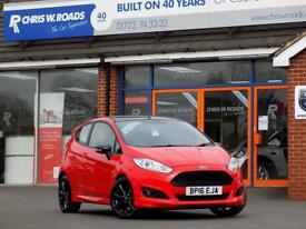 FORD FIESTA 1.0 ZETEC S RED EDITION 3dr 140 (red) 2016