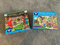 Little Orchard Toys Football, Three Little Pigs