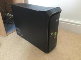 PC and Monitor (with keyboard and mouse) & HP Deskjet 940c Printer
