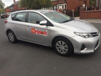 Toyota auris 1.4 diesel leeds city taxi