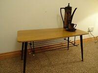 **SOLD**Vintage Retro Teak Veneer Coffee Table