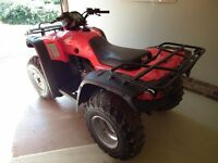 Honda ATV 350 ESP FourTrax Quadbike. Mileage Covered 7 miles from New.