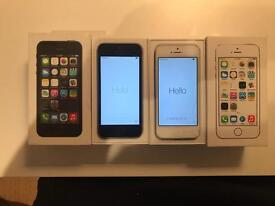 iPhone 5s x 2 - One white and One black