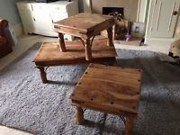 1 Wooden coffe table
