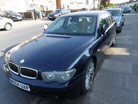 2004 BMW 730d E65 SPORT £2899
