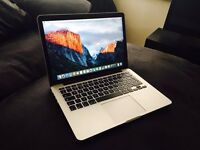 "Latest model 13"" Macbook Pro - 3 months old - like new - still under warranty - Retina display"