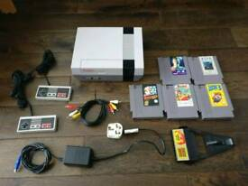 Original NES Serviced with 5 games