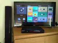Panasonic 80w soundbar SC-HTB8 & Samsung Blu-ray BD-J4500