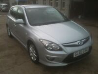 60 PLATE HYUNDAI I30 COMFORT DIESEL 5DR AUTOMATIC 32000MILES £5250
